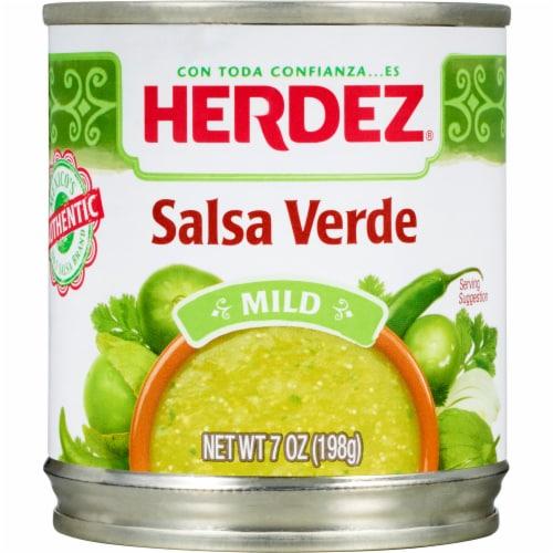 Herdez Mild Salsa Verde Perspective: front
