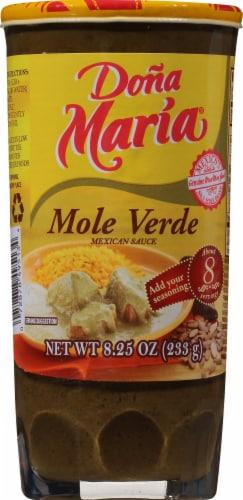 Dona Maria Mole Verde Sauce Perspective: front