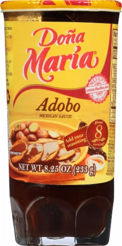 Dona Maria Adobo Mexican Sauce Perspective: front