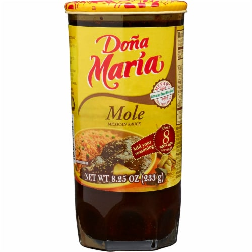 Dona Maria Mole Mexican Sauce Perspective: front