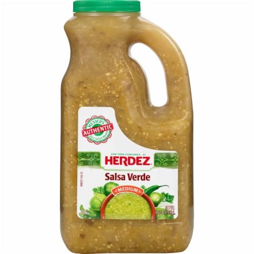 Herdez Medium Salsa Verde Perspective: front
