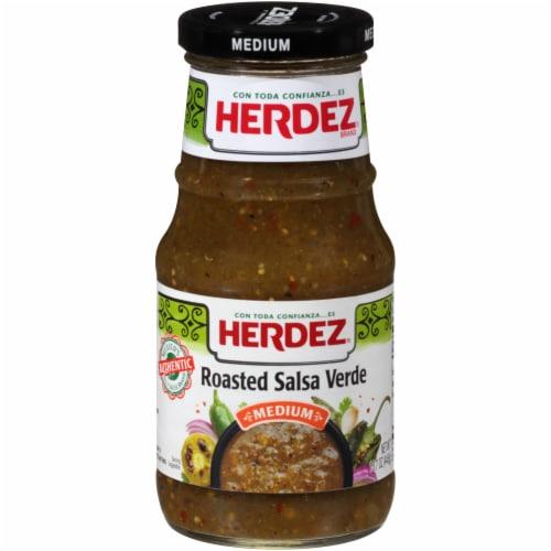 Herdez Medium Roasted Salsa Verde Perspective: front