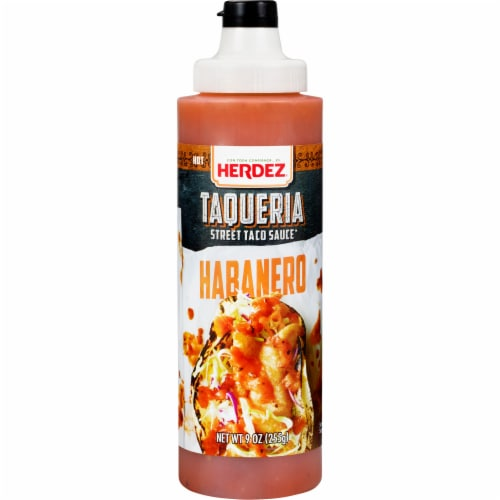 Herdes Taqueria Habanero Street Taco Sauce Perspective: front