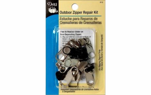 Dritz Zipper Repair Kit Outdoor Astd Perspective: front