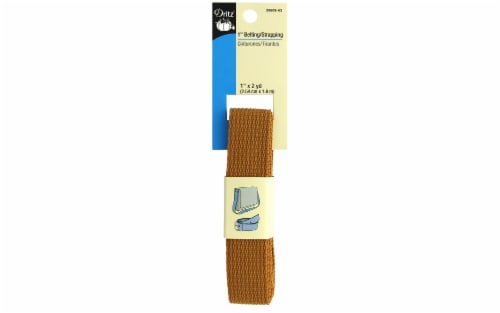 """Dritz Polypropylene Belting/Strapping 1"""" Russet Perspective: front"""