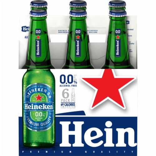Heineken Non-Alcoholic Beer Perspective: front