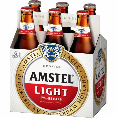 Amstel Light Beer Lager Perspective: front