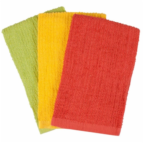 Ritz Bar Mop Towels  Warm Colors - pack of 3 Perspective: front