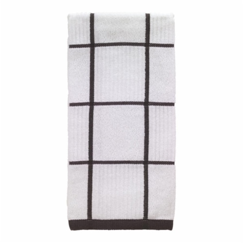T-Fal 6517536 Charcoal Cotton Kitchen Towel - Pack of 6 Perspective: front