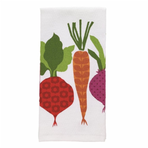 T-Fal 6516843 Multicolor Cotton Kitchen Towel - Pack of 6 Perspective: front