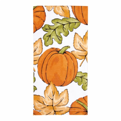 RITZ Colors of Harvest Kitchen Towel Perspective: front