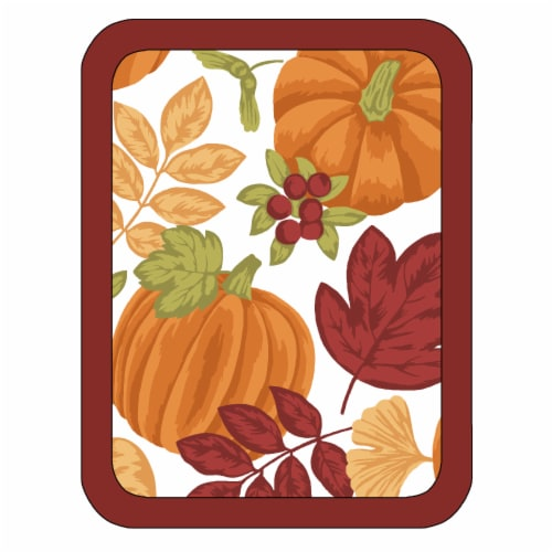 RITZ Colors of Harvest Pot Holder - Red/Orange Perspective: front