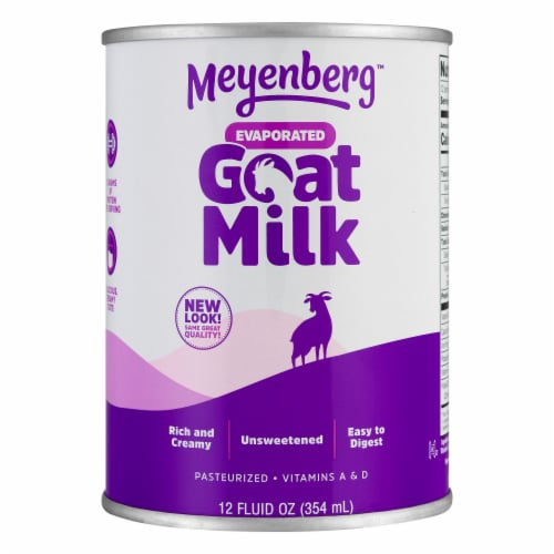 Meyenberg Evaporated Goat Milk with Vitamin D Perspective: front
