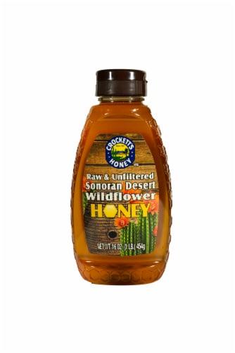 Crockett's Raw Unfiltered Sonoran Desert Wildflower Honey Perspective: front