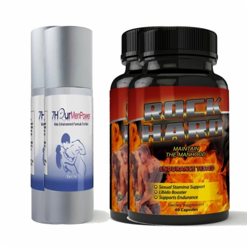 7Hour Men Power and Rock Hard Combo Pack Perspective: front