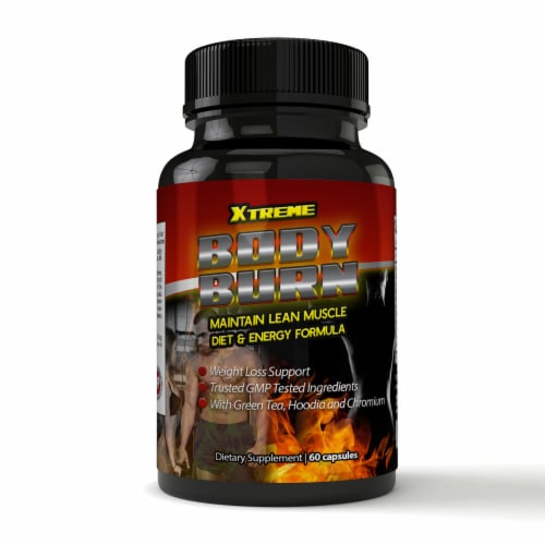 Xtreme Fat Burn Weight Loss and Calorie Burner (60 capsules) Perspective: front