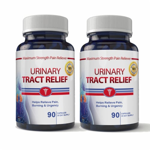 Urinary Tract Relief (90 capsules) Perspective: front