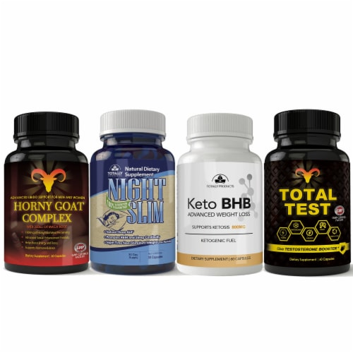 Men's 4 Pack Health and Wellness Super Variety Box Perspective: front