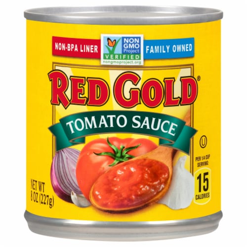 Red Gold Tomato Sauce Perspective: front