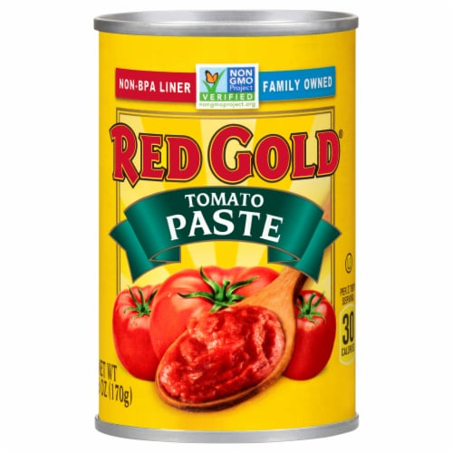 Red Gold Tomato Paste Perspective: front