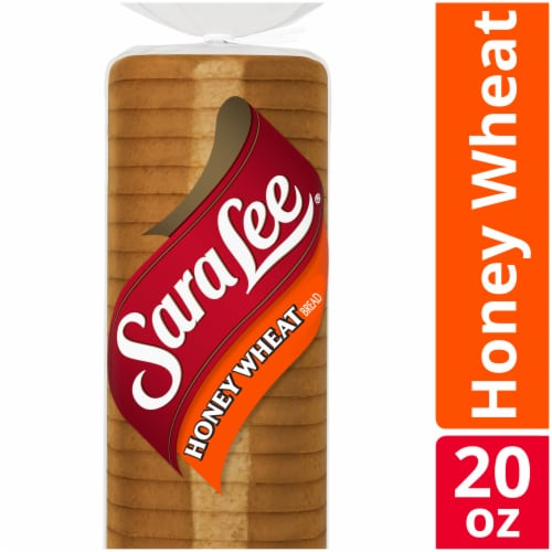 Sara Lee Honey Wheat Bread Perspective: front