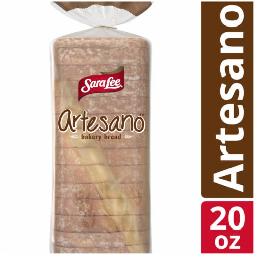 Sara Lee Artesano White Bakery Bread Perspective: front