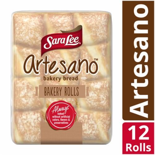 Sara Lee Artesano Bakery Rolls Perspective: front