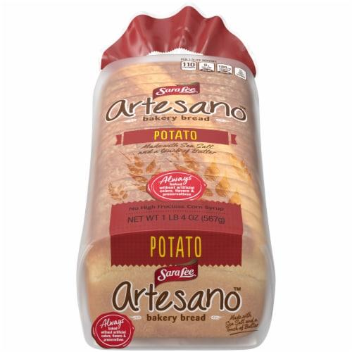 Sara Lee Artesano Potato Bread Perspective: front