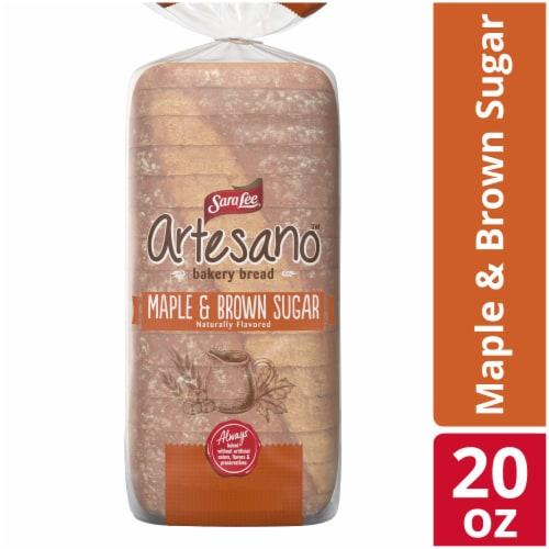 Sara Lee® Artesano™ Maple & Brown Sugar Bread Perspective: front