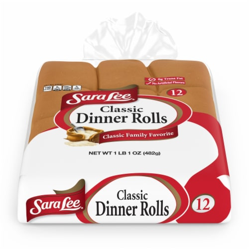 Sara Lee White Dinner Rolls Perspective: front