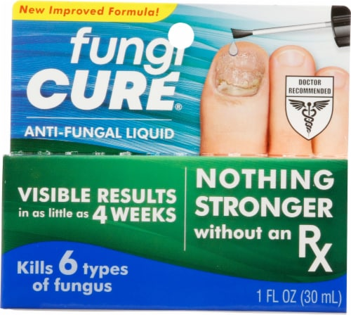 Fungicure Max Strength Anti-Fungal Liquid Perspective: front