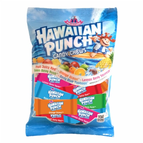 Fairtime Hawaiian Punch Candy Chews Perspective: front