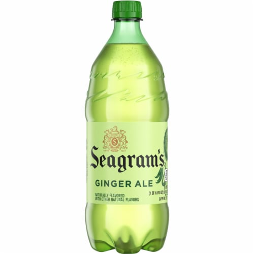 Seagram's Ginger Ale Perspective: front