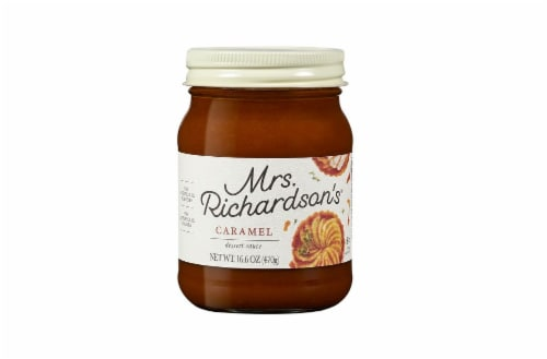 Mrs. Richardson's Caramel Dessert Sauce Perspective: front