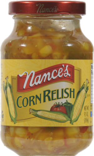 Nance's Corn Relish Perspective: front