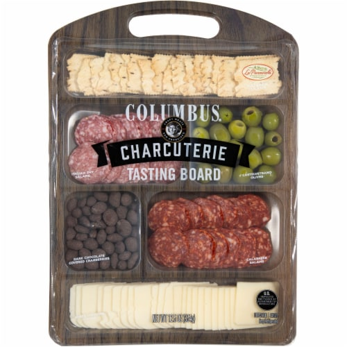 Columbus Charcuterie Tasting Board Perspective: front