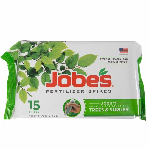Jobe's Trees and Shrubs Fertilizer Spikes Perspective: front