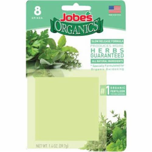 Easy Gardener 261117 Organic Herb Spike, Count 8 Perspective: front