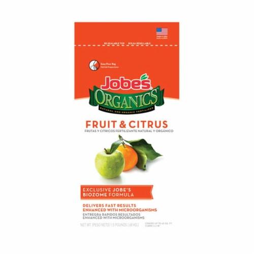 Jobes 7495708 1-0.5 lbs Organics Fertilizer for Fruit & Citrus Trees Perspective: front