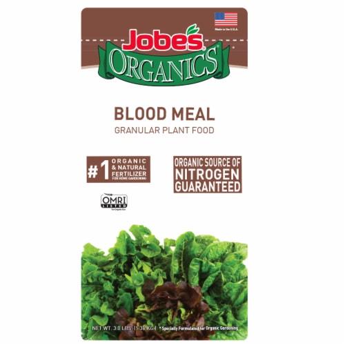 Jobe's Organics Blood Meal Granular Plant Food Perspective: front