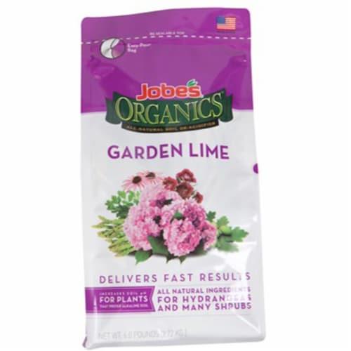 Jobe's Organics Garden Lime Soil De-Acidifier Perspective: front