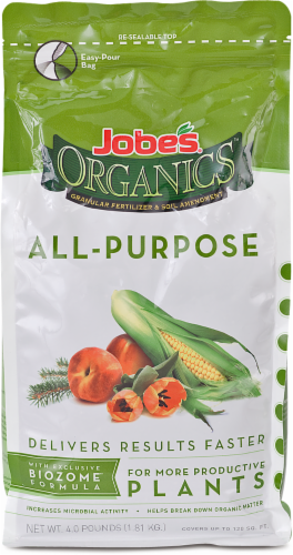 Jobe's Organics All-Purpose Fertilizer Perspective: front