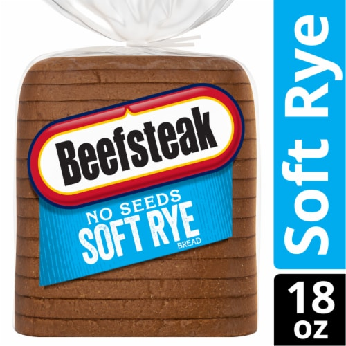 Beefsteak No Seeds Soft Rye Bread Perspective: front