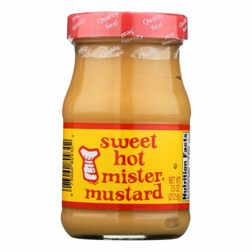 Mister Mustard Sweet Hot Mustard Perspective: front