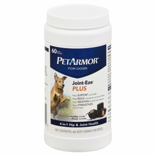 Pet Armor Dog Joint Eze Plus Soft Chews Perspective: front