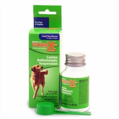 Sentry Dog Liquid Wormer 2 oz. - Case Of: 1; Perspective: front