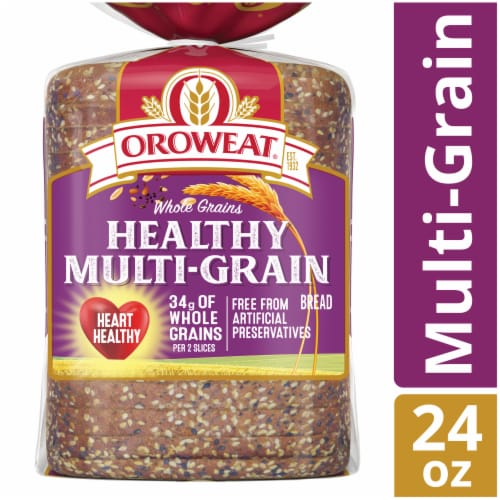 Oroweat Whole Grains Healthy Multi-Grain Bread Perspective: front
