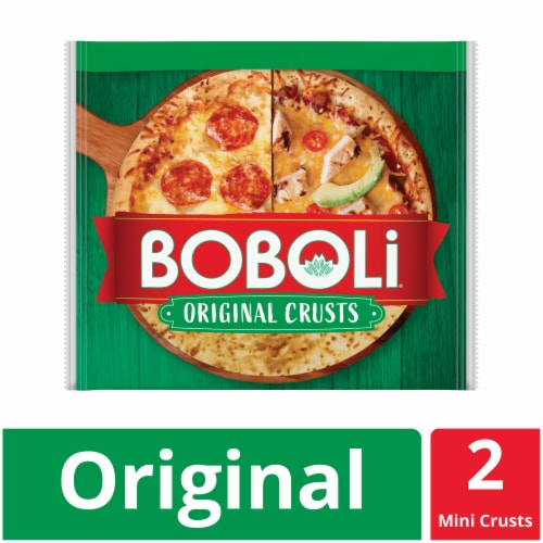 Boboli Mini Original Pizza Crusts Perspective: front
