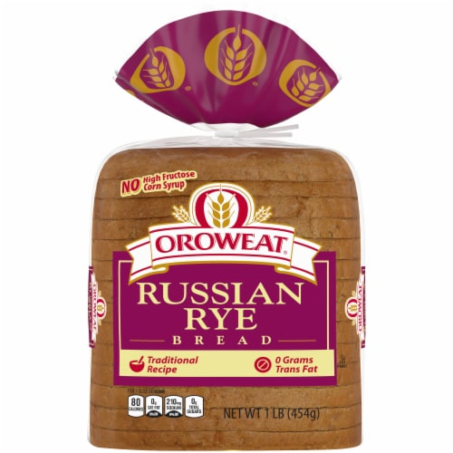 Oroweat Russian Rye Bread Perspective: front