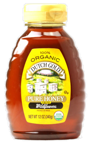 Dutch Gold Honey Perspective: front